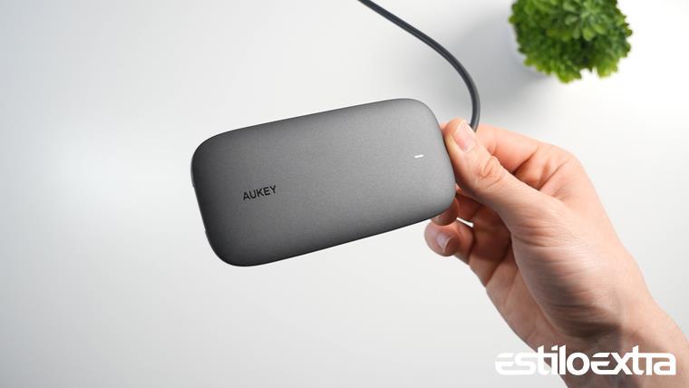 Review del Hub USB Tipo C 8 en 1 de Aukey