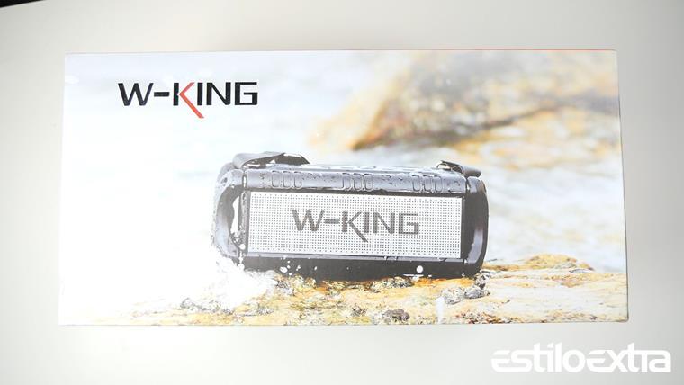 Unboxing del altavoz W-King D8
