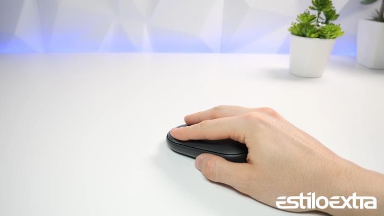 Probando el raton Logitech PEBBLE M350
