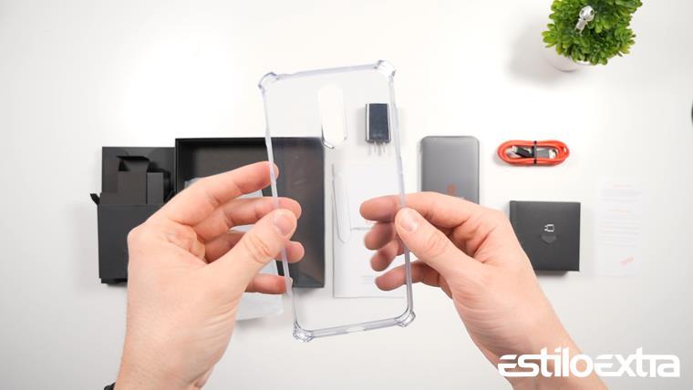 Funda de silicona transparente