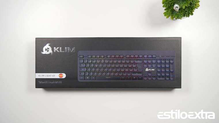 Unboxing teclado KLIM Light V2