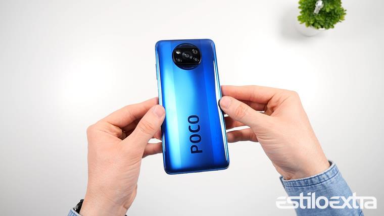 Diseño del Xiaomi POCO X3