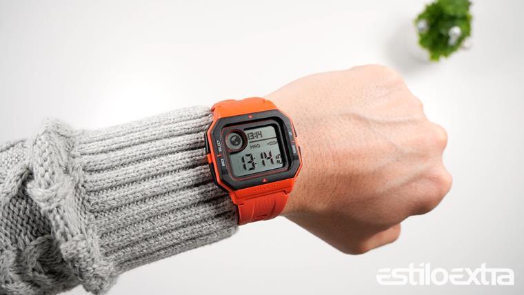 Reloj retro inteligente