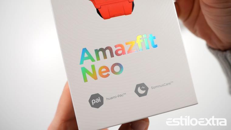 Unboxing del reloj retro Amazfit Neo